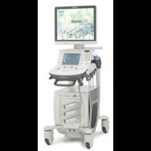Система ультразвуковая диагностическая экспертного класса Xario 200 конвексный, линейный и секторный датчики, принтер, источник бесперебойного питания, 2018 год Canon Medical Systems (Япония)