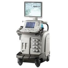 Восстановленая ультразвуковая диагностическая система экспертного класса Aplio 500 (конвексный, линейный, эндокавитарный датчик - новые) 2014-2017, производства TOSHIBA Medical Systems Corporation (Япония)